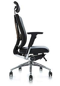 Офисное ортопедическое кресло для руководства DuoFlex Leather BR-100L